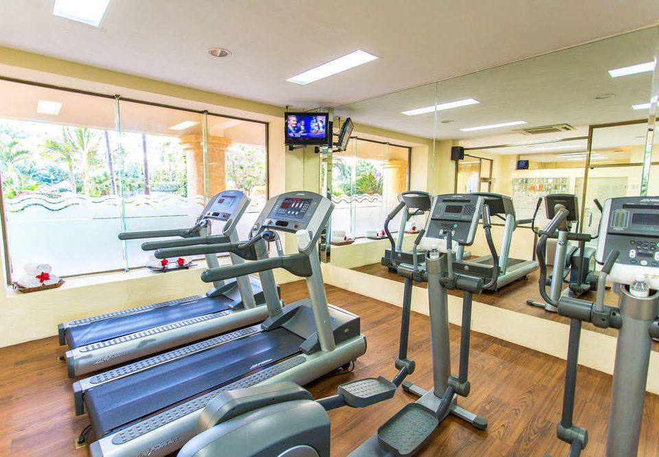 structure desk sport venue gym office condominium