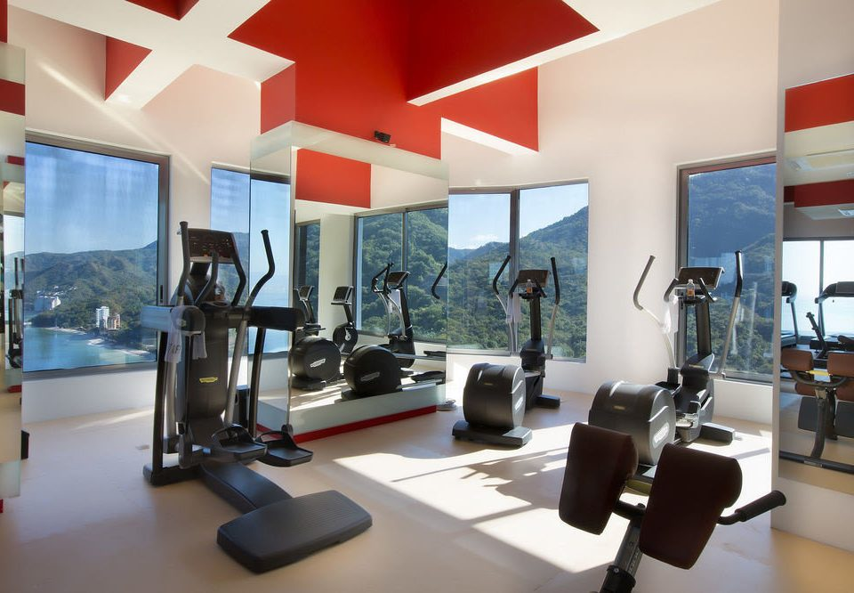 structure gym sport venue condominium physical fitness desk