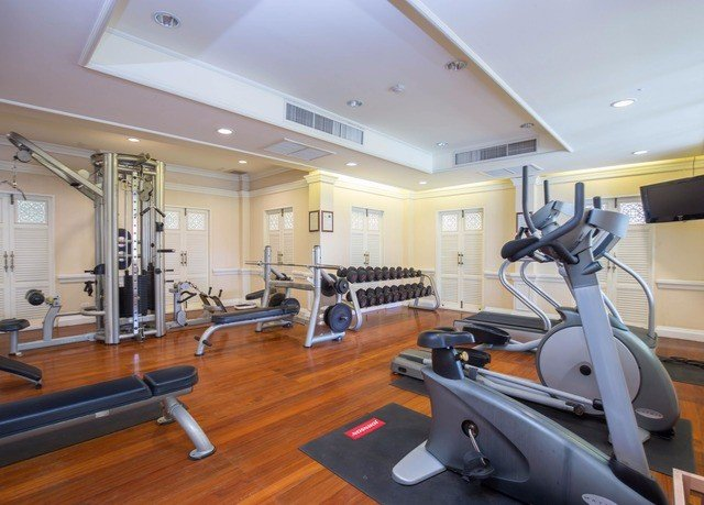 structure gym property sport venue condominium exercise device hard