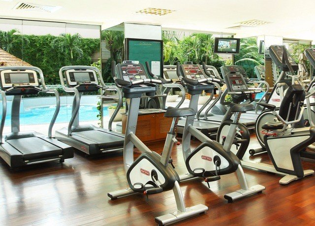 structure leisure gym sport venue condominium exercise machine