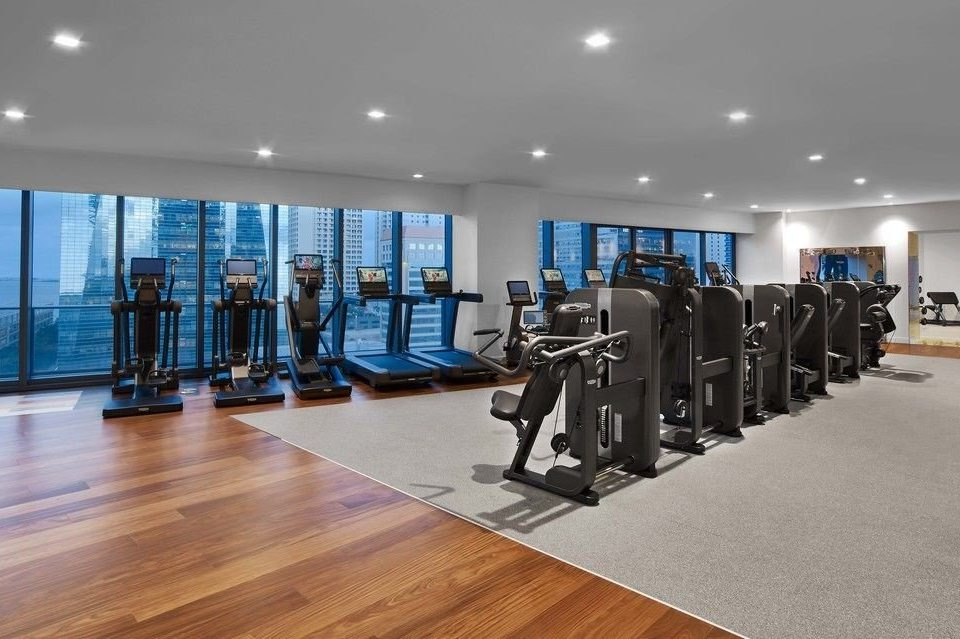 structure gym property sport venue condominium flooring
