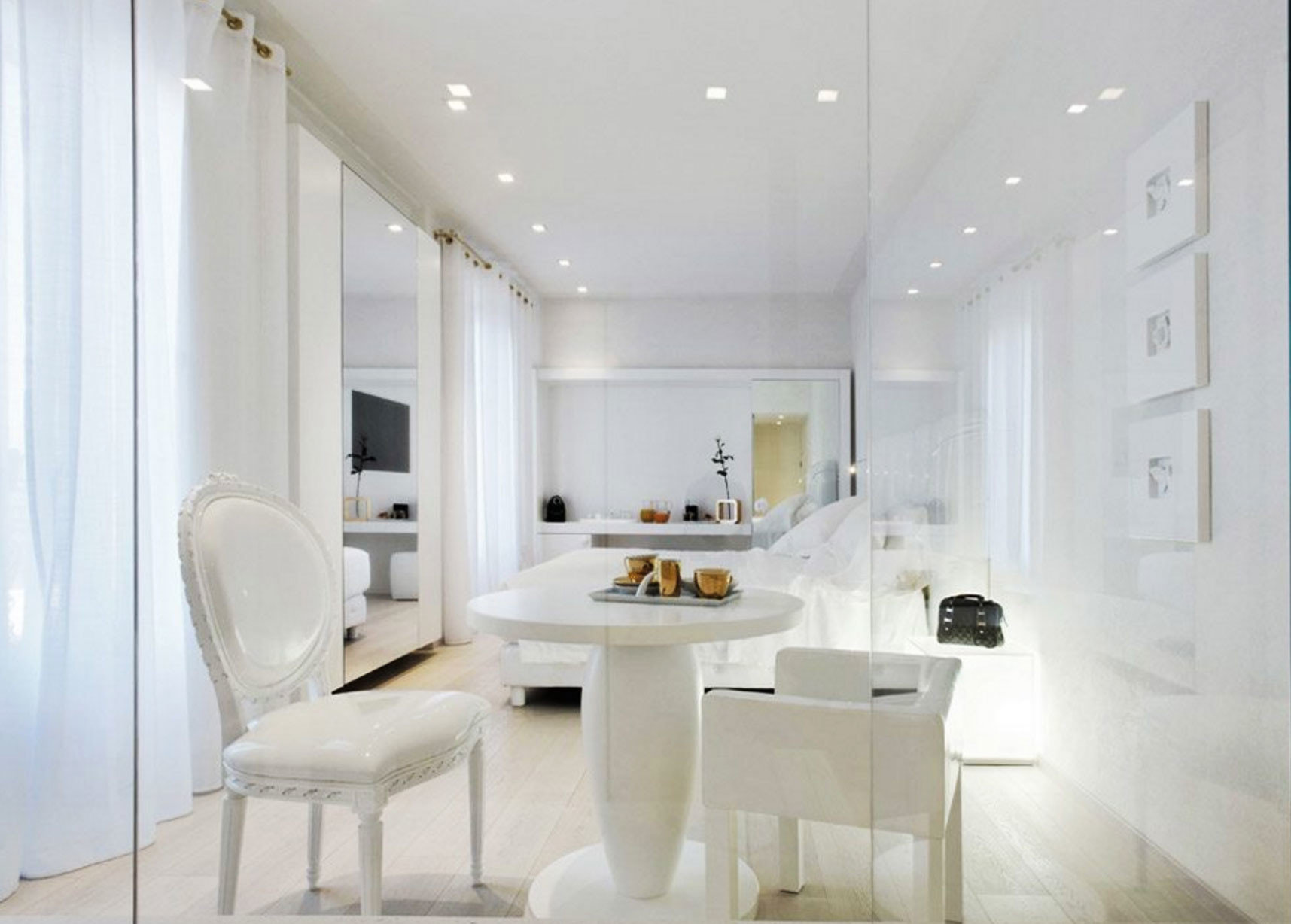property white home living room lighting flooring condominium