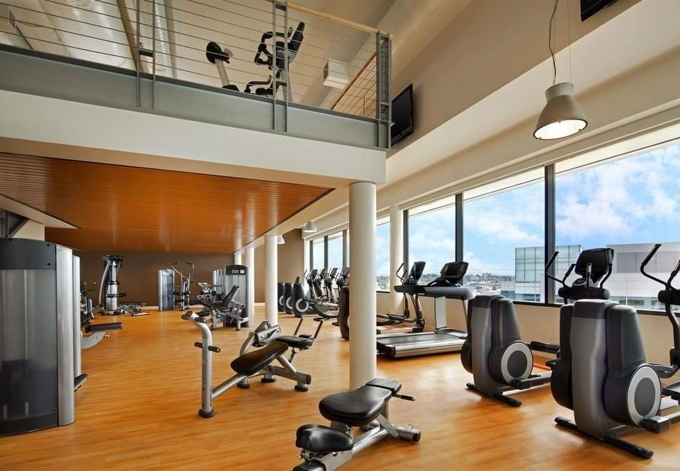 structure property condominium sport venue gym office living room hard