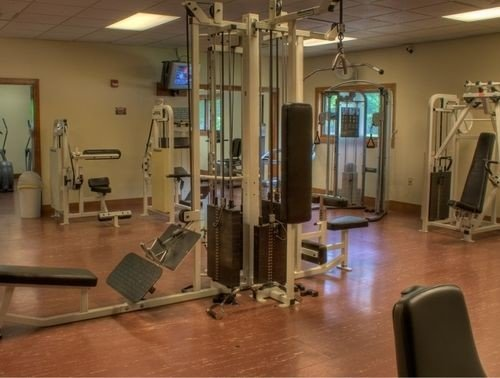 structure gym property sport venue condominium physical fitness hard
