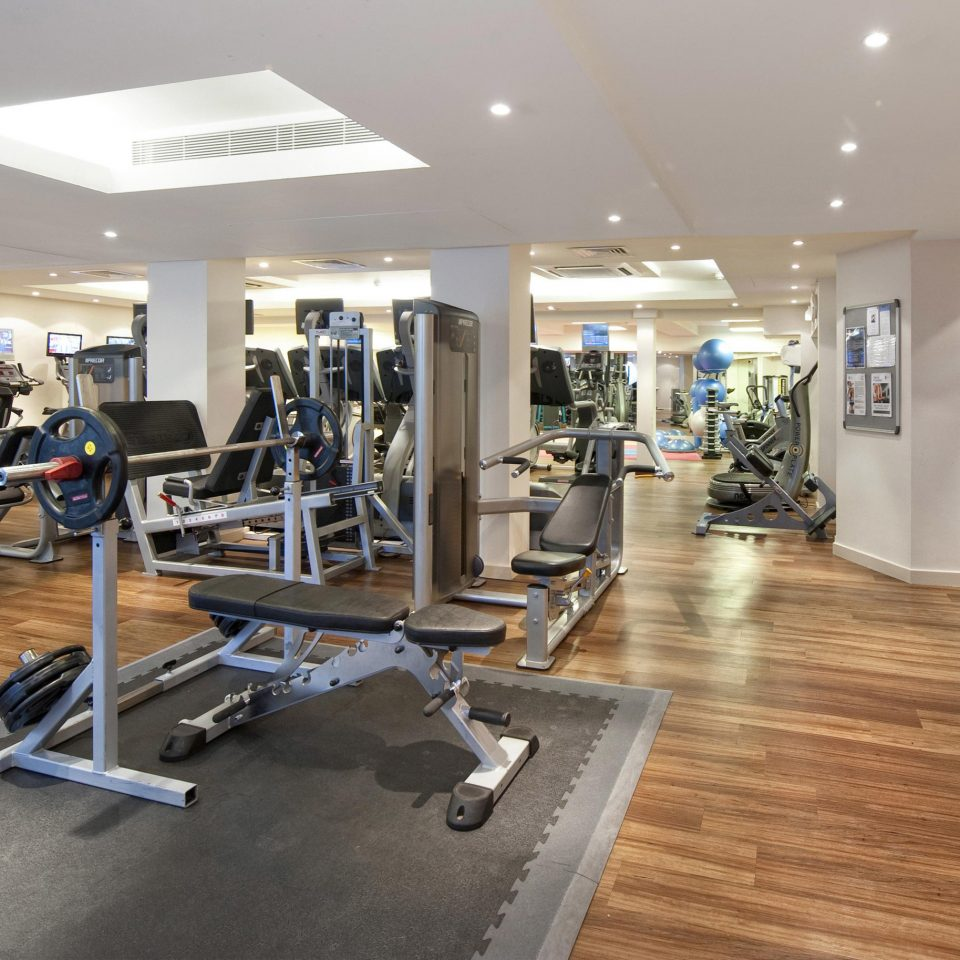 structure gym sport venue condominium hard