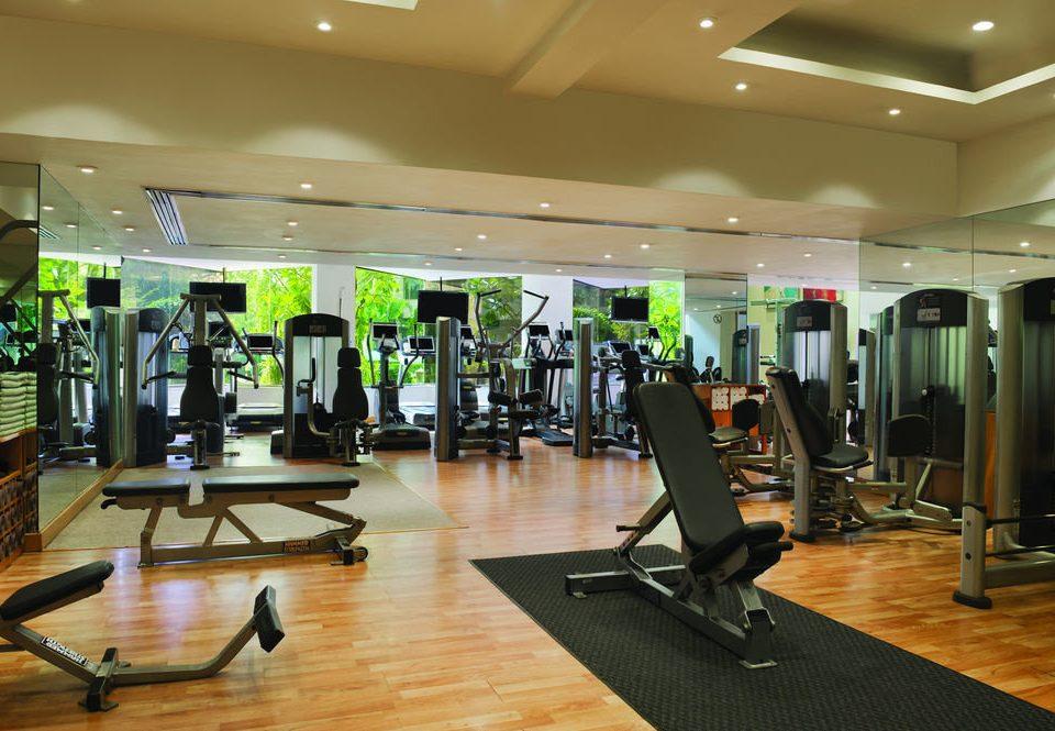 structure gym sport venue condominium hard