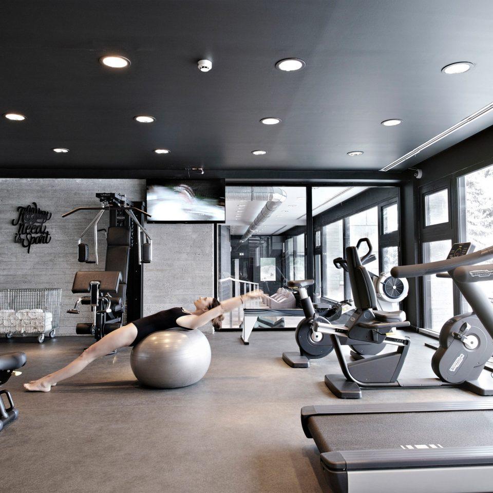 structure gym sport venue condominium lighting