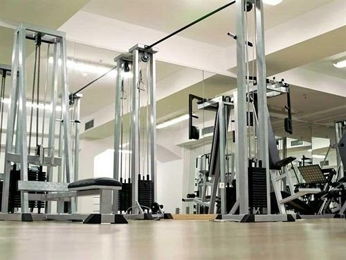 structure gym sport venue condominium lighting