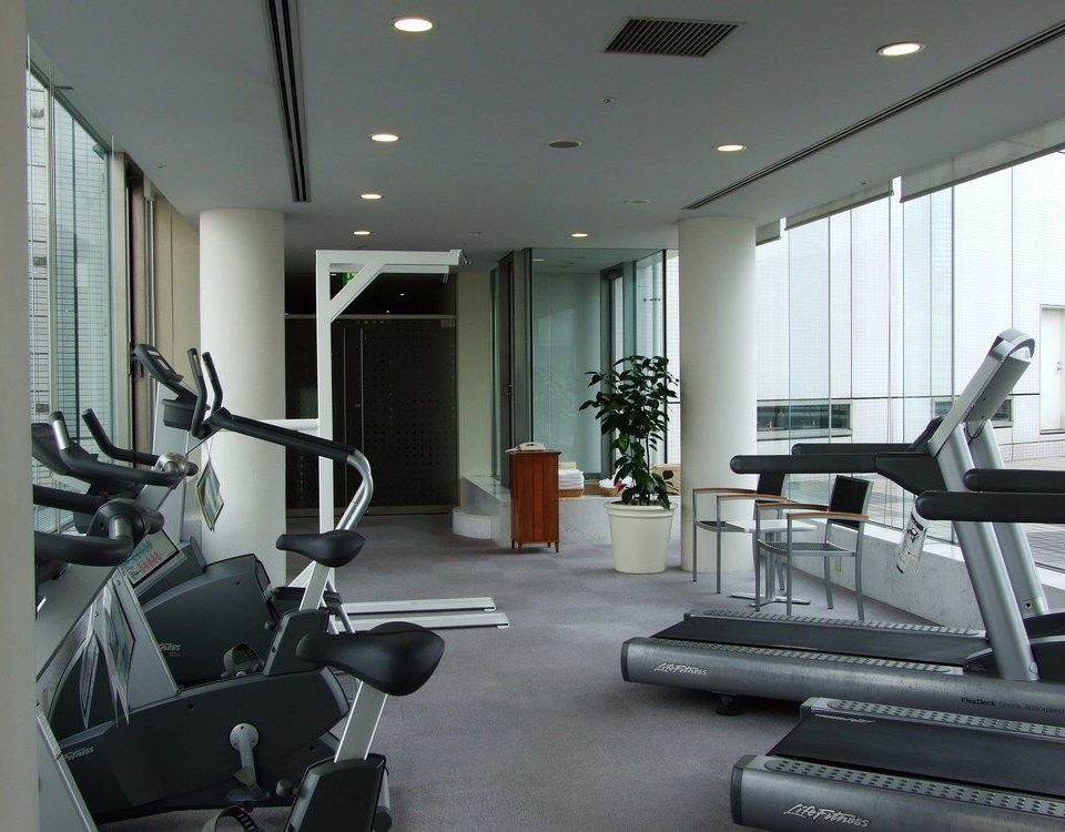 structure condominium property sport venue gym living room