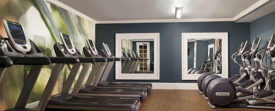 structure property sport venue gym living room condominium