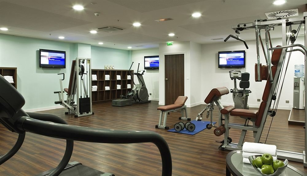 structure gym sport venue condominium muscle physical fitness