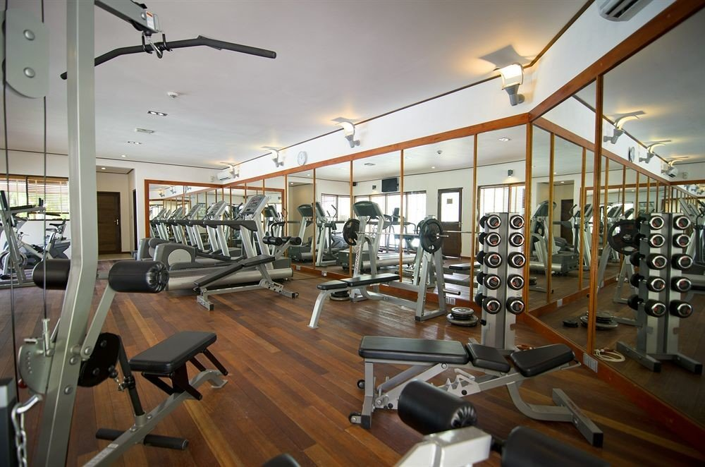structure gym sport venue physical fitness condominium