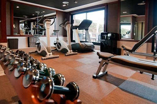 structure gym sport venue physical fitness condominium