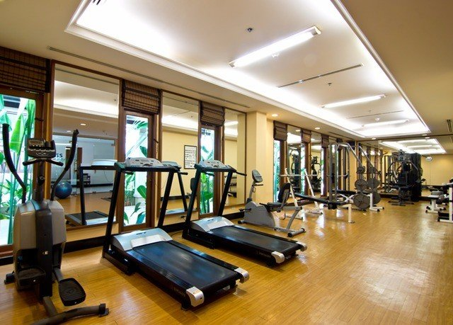 structure gym property sport venue condominium recreation room