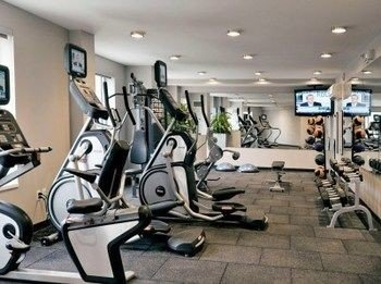 structure gym sport venue condominium