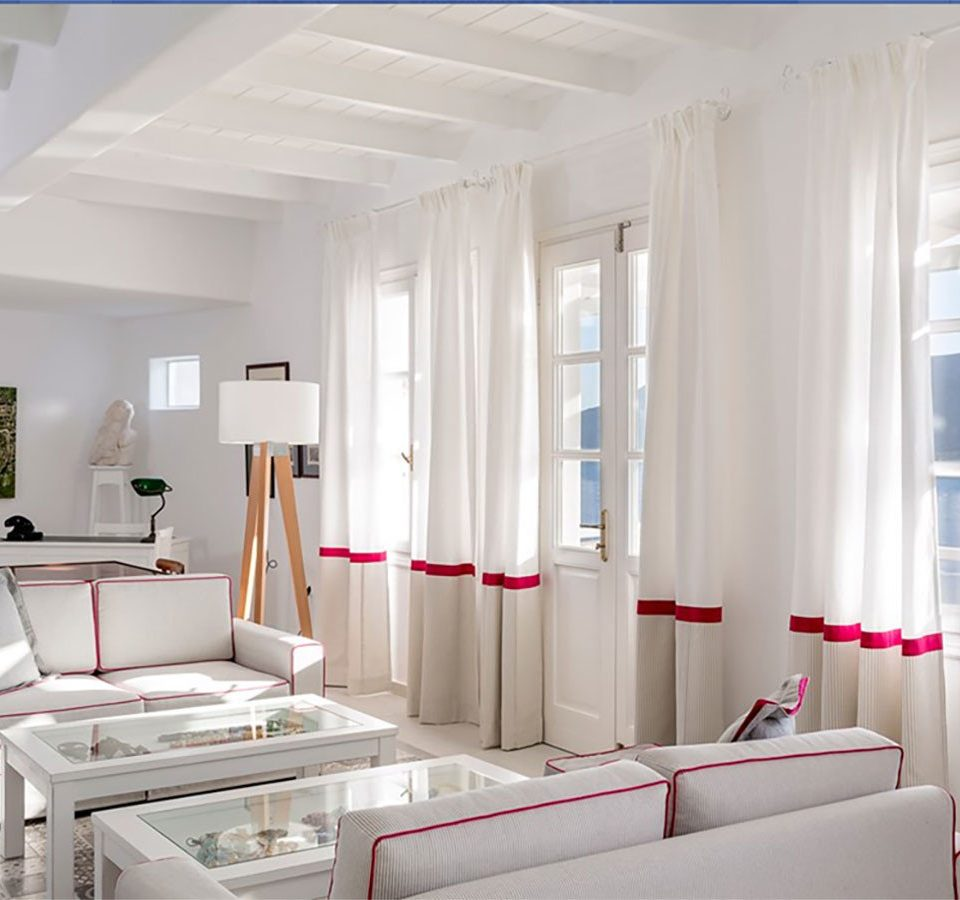 property living room white condominium home