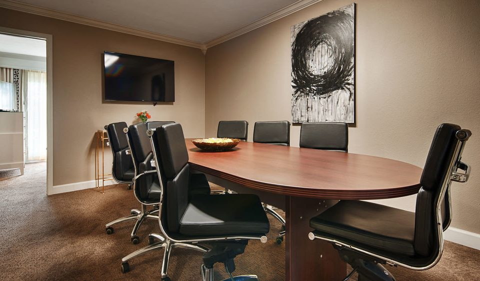 property desk conference hall office conference room dining table