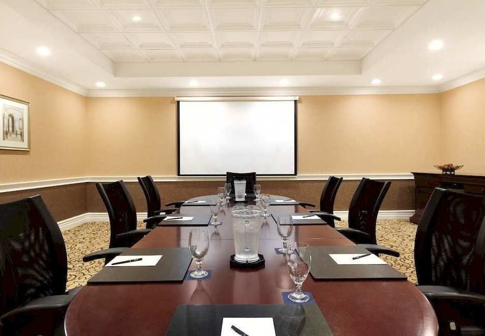 conference hall meeting function hall conference room leather dining table