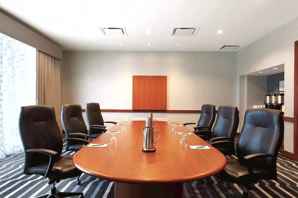 property conference hall conference room leather dining table