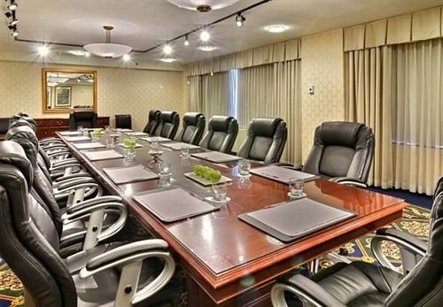scene conference hall conference room yacht vehicle leather