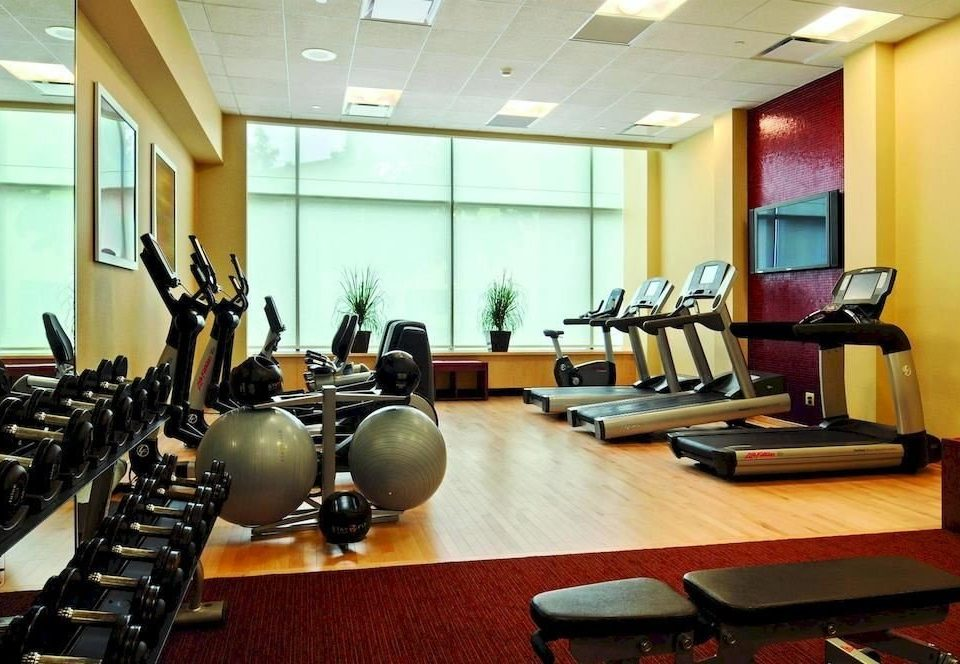structure gym desk sport venue physical fitness conference hall recreation room