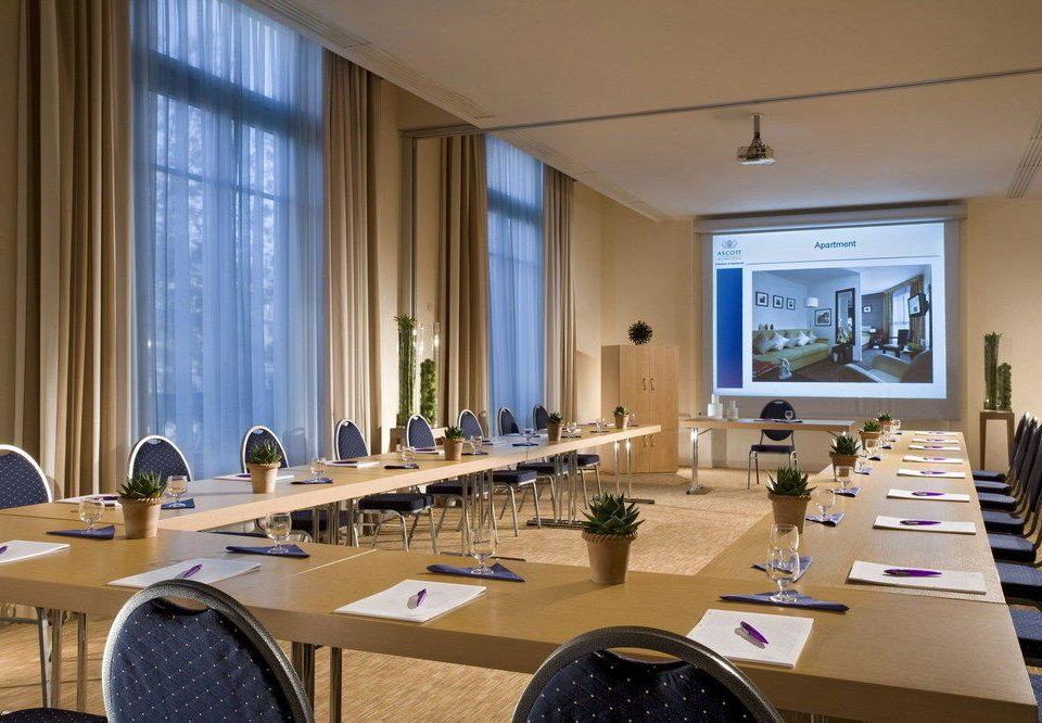 desk conference hall seminar meeting