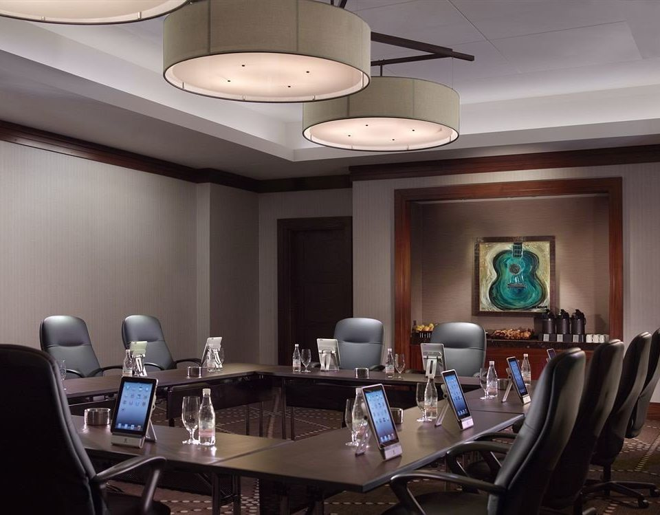 property conference hall living room lighting office dining table