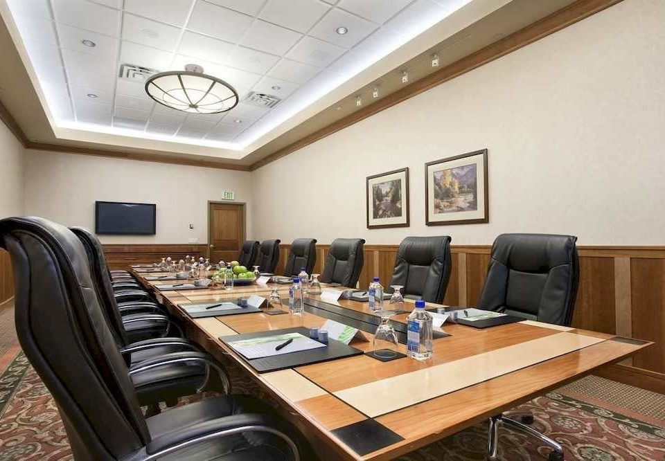 property conference hall recreation room office dining table