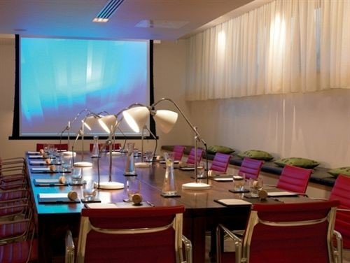 conference hall function hall set