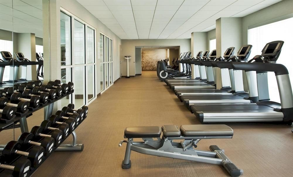 structure gym sport venue conference hall lined