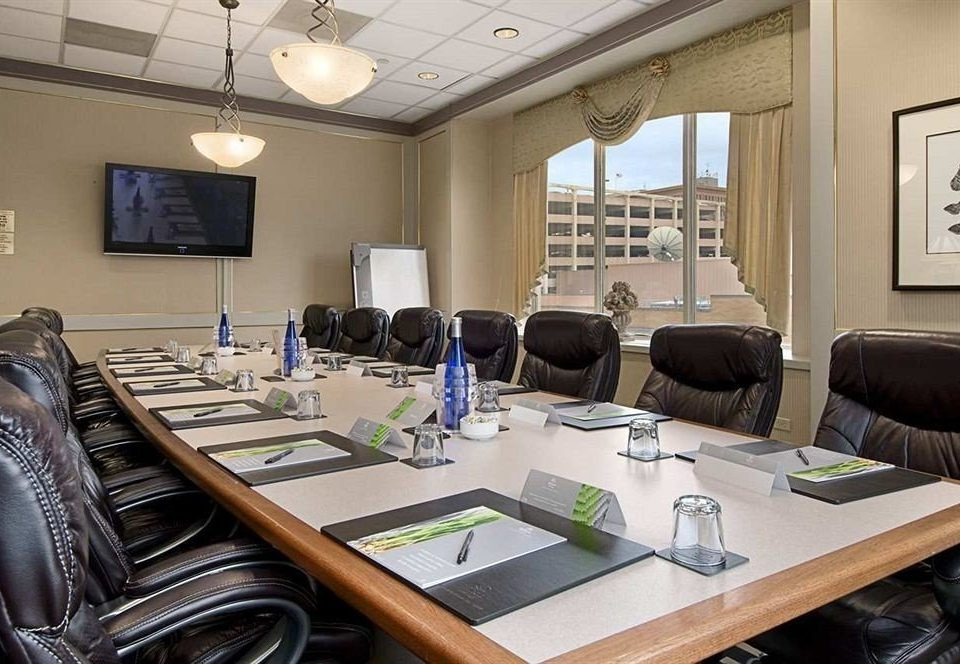property conference hall meeting living room office leather
