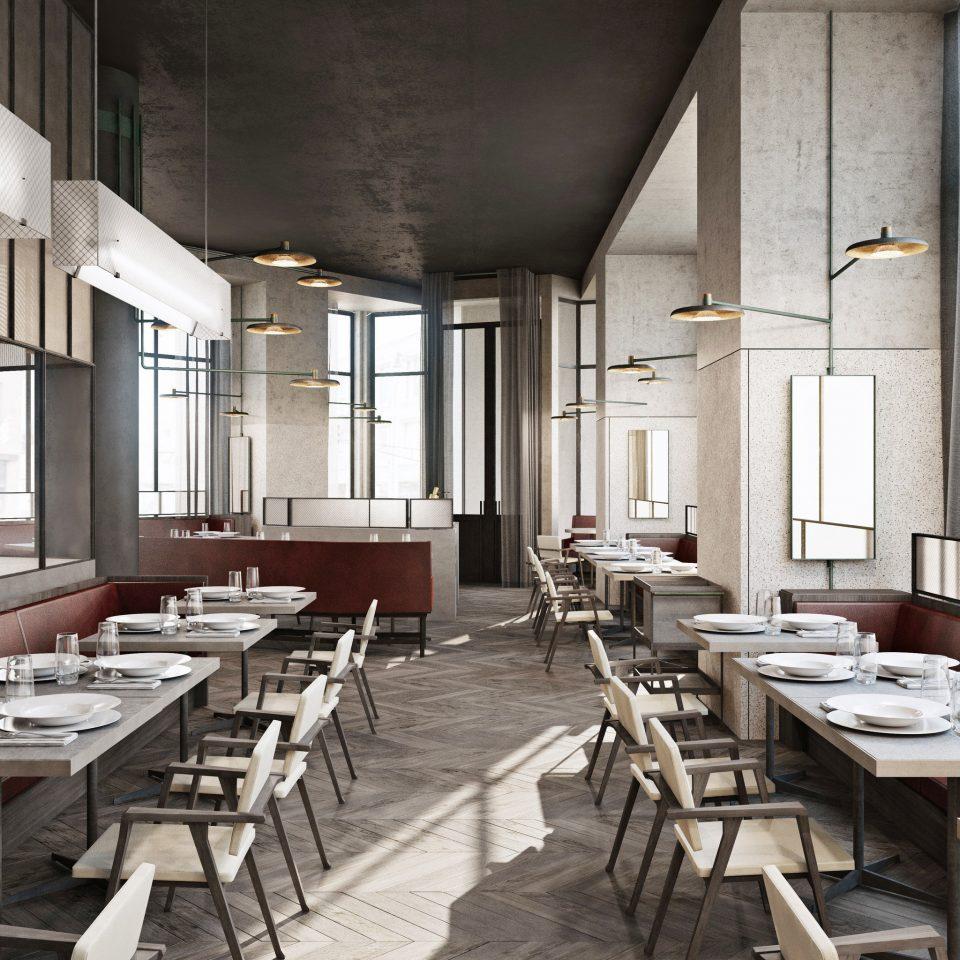 restaurant conference hall