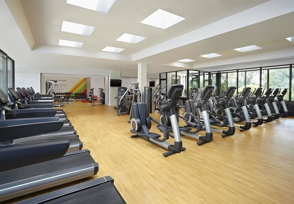 structure gym sport venue wooden physical fitness conference room