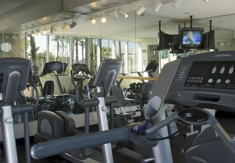 structure gym sport venue vehicle exercise machine control panel