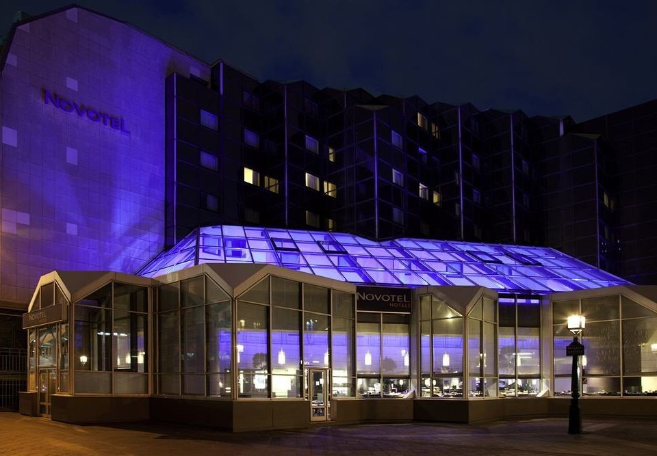 purple night theatre lighting shape stadium display device convention center