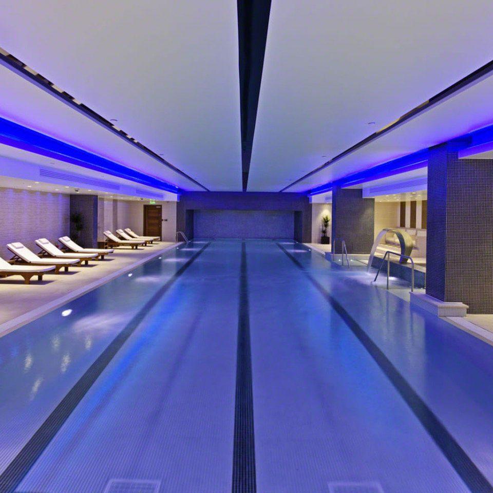 swimming pool leisure centre lighting convention center platform public transport