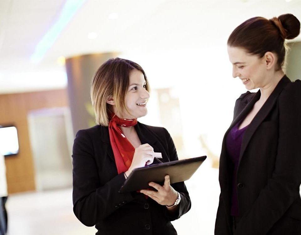 suit white collar worker conversation formal wear dressed