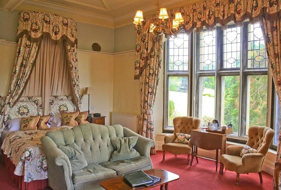 property living room curtain cottage window treatment textile mansion