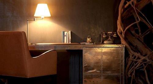 property lighting cottage desk