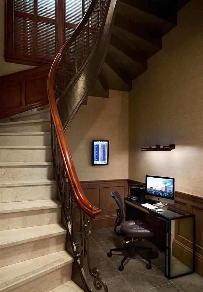 stairs property house home hardwood handrail living room wood flooring loft cottage flooring step