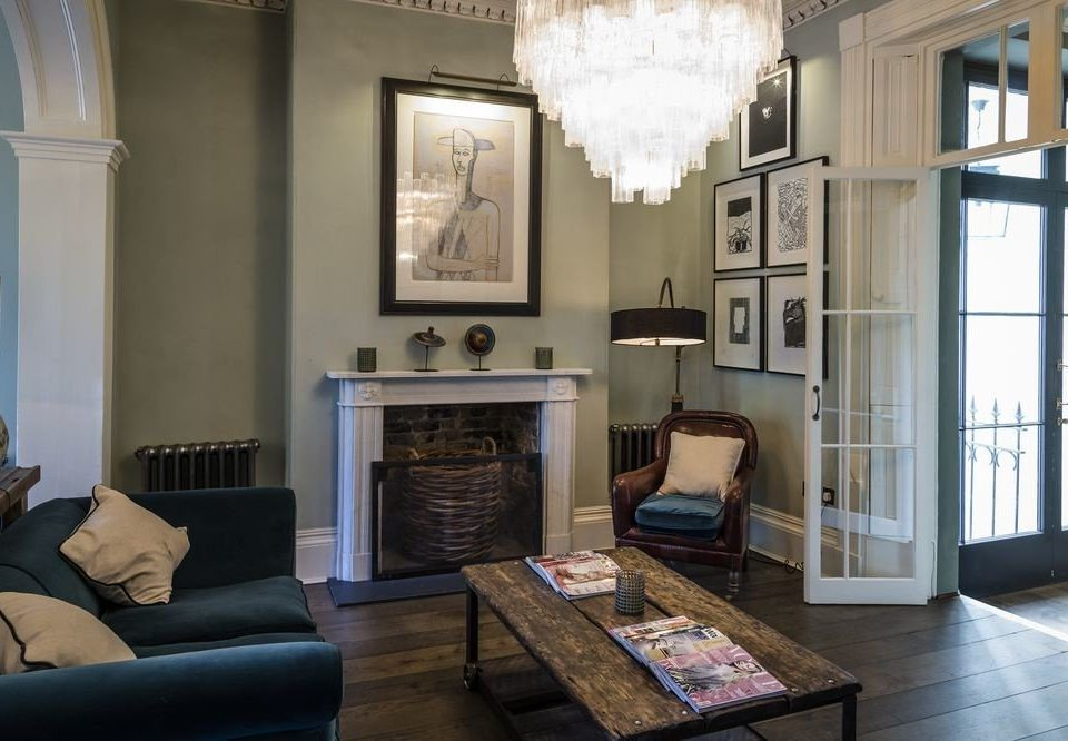 living room property home house cottage mansion leather