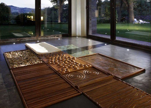 swimming pool property hardwood flooring wooden countertop wood flooring outdoor structure