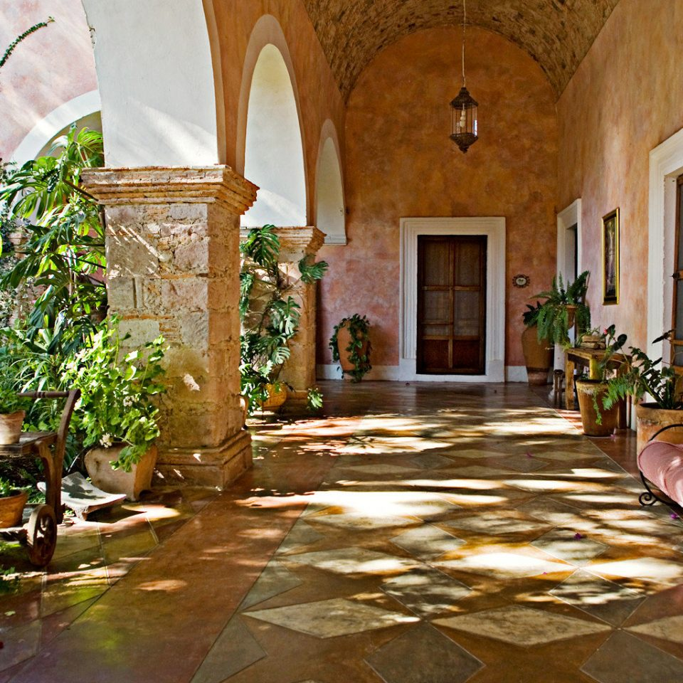 Country Exterior Luxury Rustic house home Courtyard mansion ancient history hacienda stone