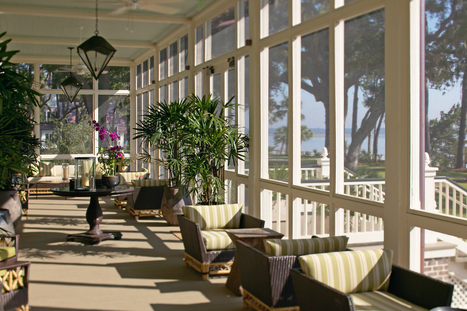 Country Inn Patio Scenic views Waterfront tree building Lobby porch condominium restaurant home Courtyard plaza outdoor structure orangery