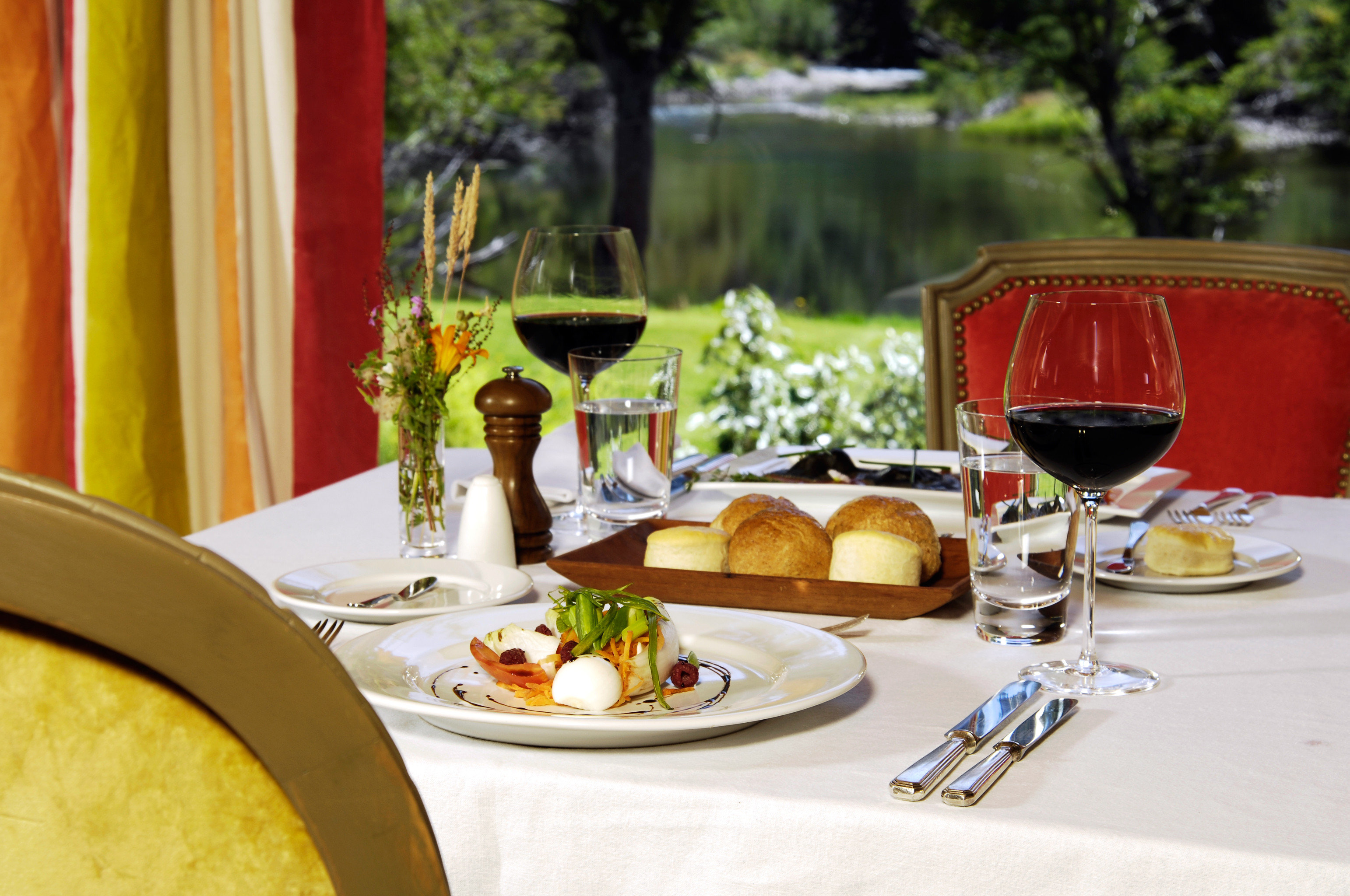 Country Cultural Dining Drink Eat Forest Mountains Nature Scenic views Wine-Tasting food wine plate restaurant lunch dinner brunch