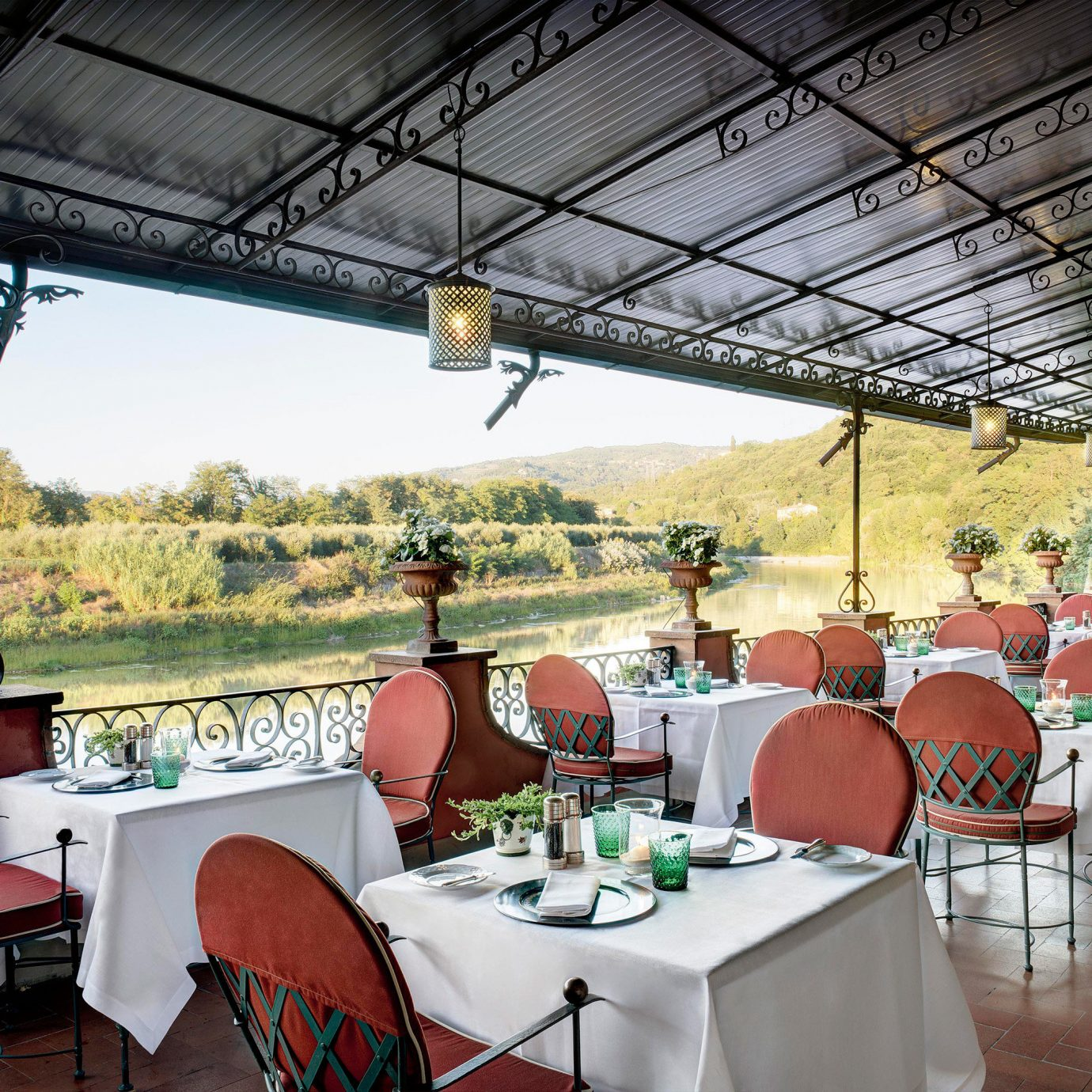 Country Dining Drink Eat Historic Patio River Scenic views Waterfront chair restaurant