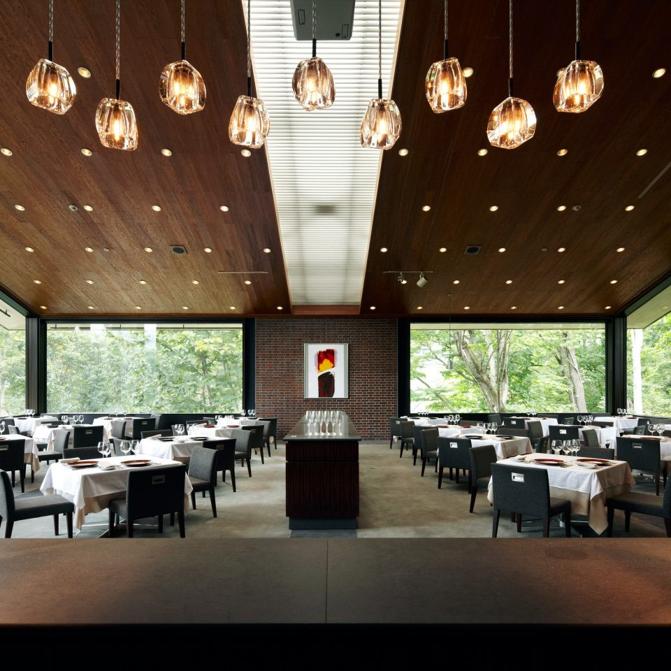 Country Dining Drink Eat Lodge Modern Waterfront Lobby function hall restaurant conference hall convention center auditorium ballroom