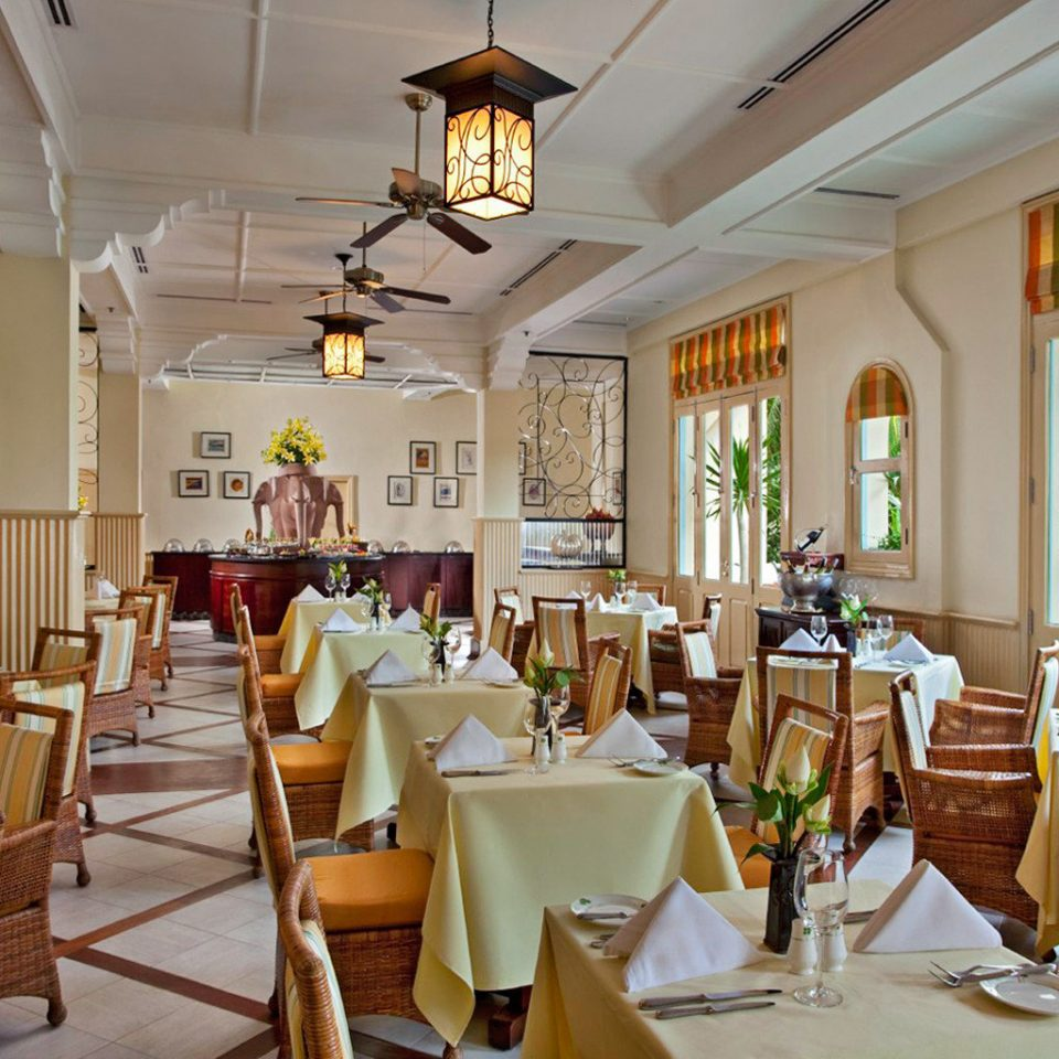 Country Dining Eat Historic Luxury Tropical chair restaurant function hall Resort palace ballroom dining table