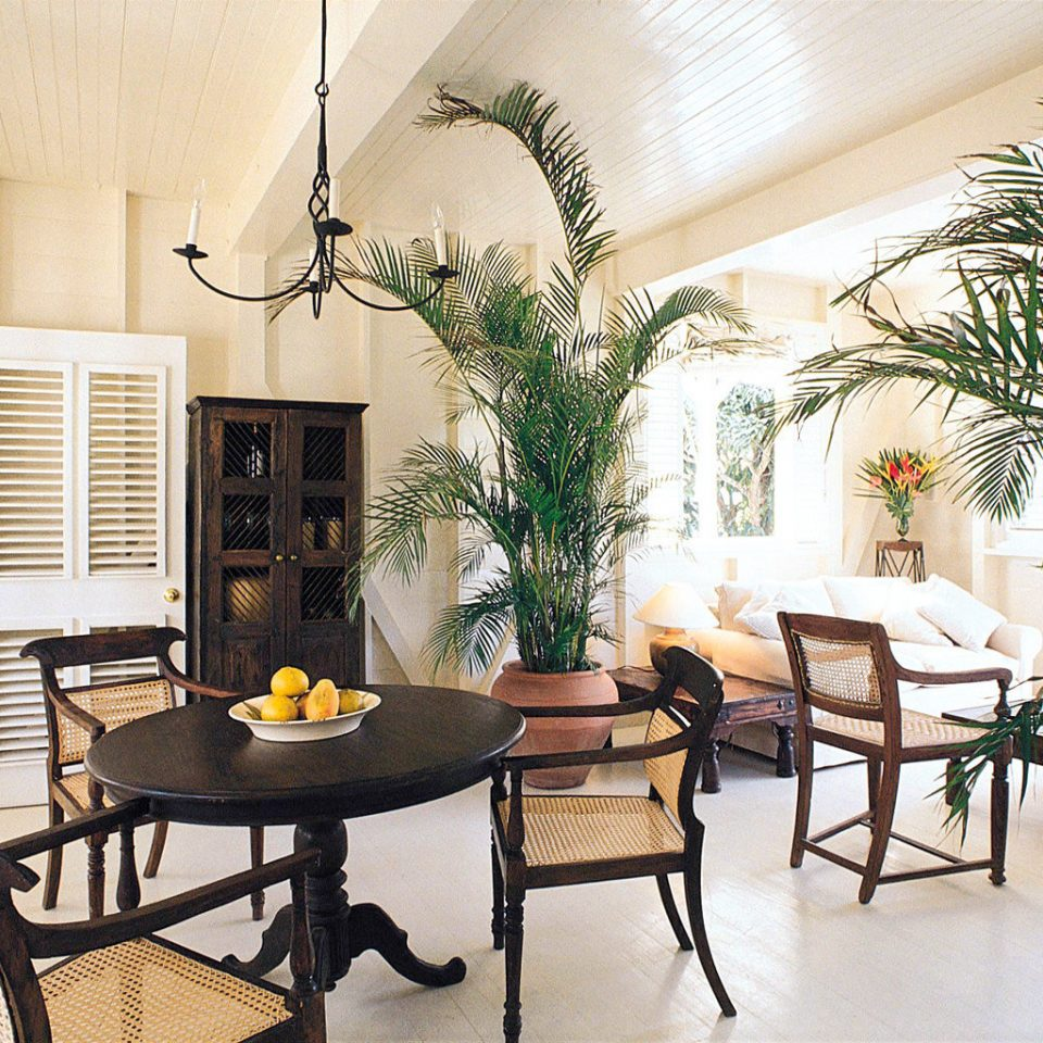 Country Dining Romance Romantic Tropical Villa chair property home living room condominium plant dining table