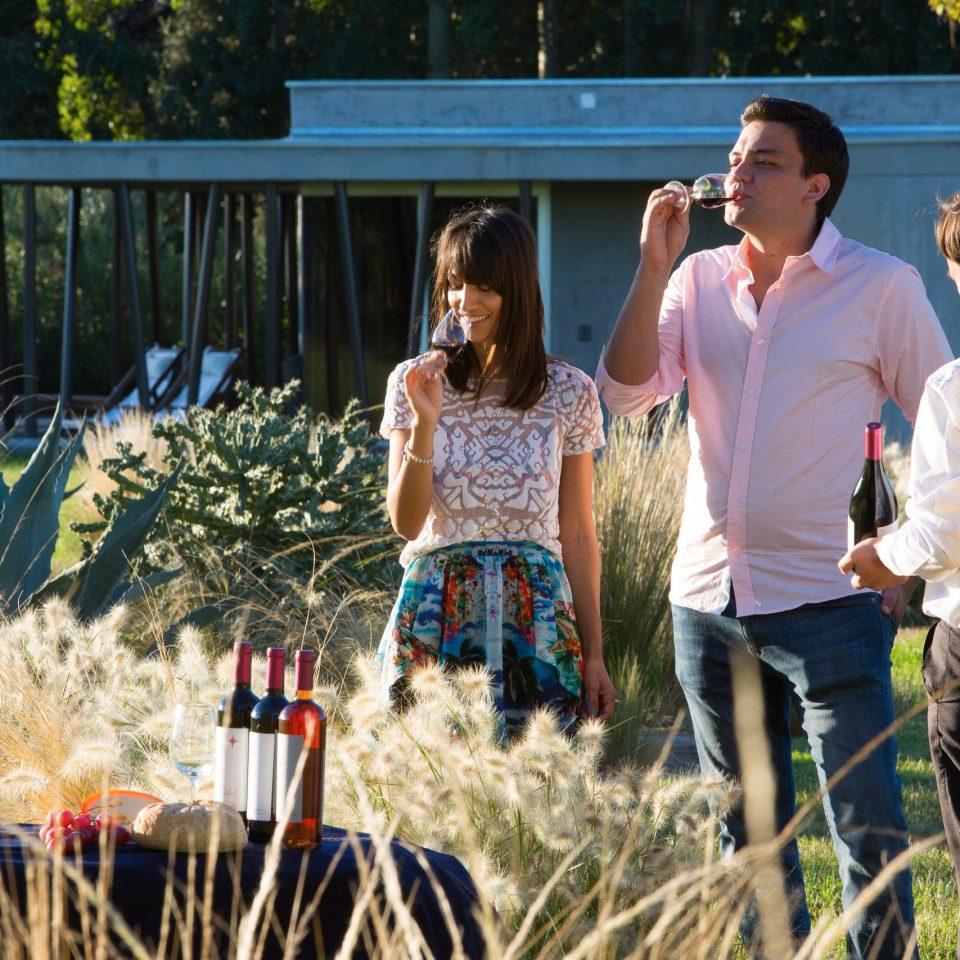 Country Drink Eat Elegant Garden Grounds Nature Resort Romantic Vineyard Wine-Tasting grass tree standing ceremony spring flower